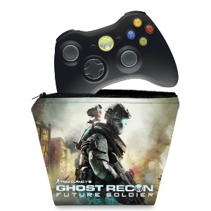 Capa Xbox 360 Controle Case - Ghost Recon Future 2 Ud