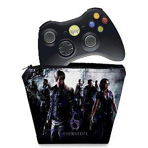 Capa Xbox 360 Controle Case - Resident Evil 6