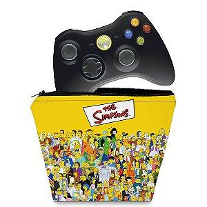 Capa Xbox 360 Controle Case - Simpsons