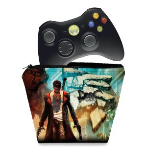 Capa Xbox 360 Controle Case - Devil May Cry 5