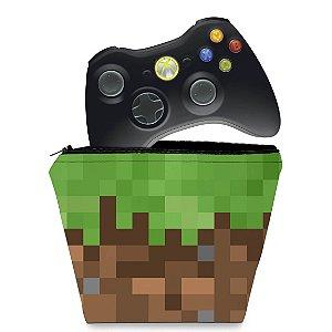 Capa Xbox 360 Controle Case - Minecraft