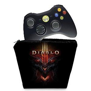 Capa Xbox 360 Controle Case - Diablo 3