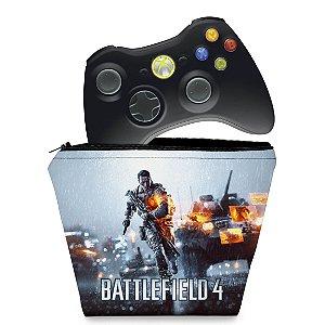 Capa Xbox 360 Controle Case - Battlefield 4