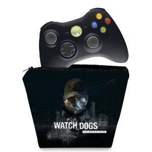 Capa Xbox 360 Controle Case - Watch Dogs