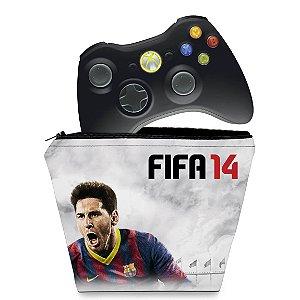 Capa Xbox 360 Controle Case - Fifa 14