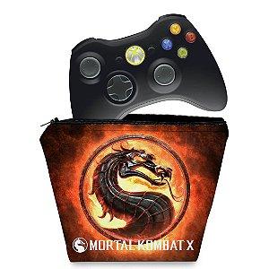 Capa Xbox 360 Controle Case - Mortal Kombat