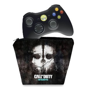 Capa Xbox 360 Controle Case - Call Of Duty Ghosts
