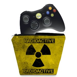 Capa Xbox 360 Controle Case - Radioativo