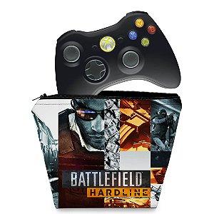 Capa Xbox 360 Controle Case - Battlefield Hardline