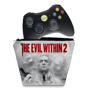 Capa Xbox 360 Controle Case - The Evil Within