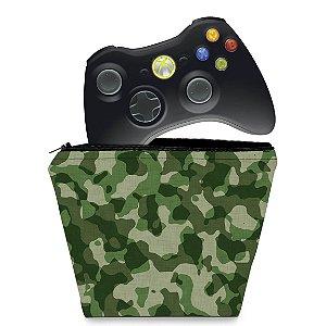 Capa Xbox 360 Controle Case - Camuflado