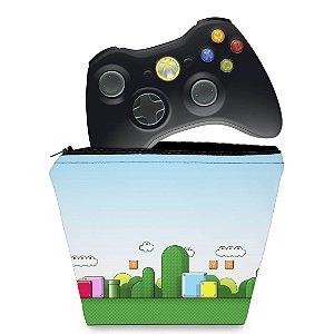 Capa Xbox 360 Controle Case - Super Mario Bros.