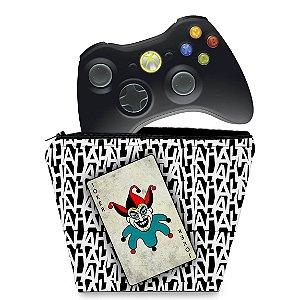 Capa Xbox 360 Controle Case - Joker Coringa