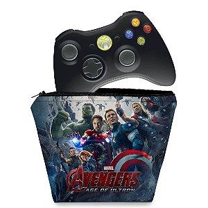 Capa Xbox 360 Controle Case - Vingadores Ultron