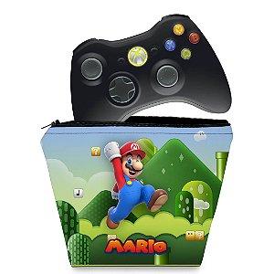 Capa Xbox 360 Controle Case - Mario & Luigi