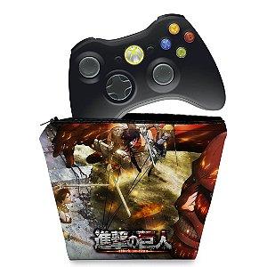 Capa Xbox 360 Controle Case - Attack On Titan #a