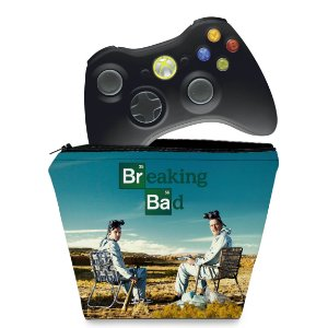 Capa Xbox 360 Controle Case - Breaking Bad