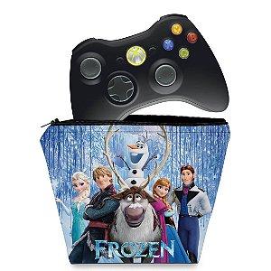 Capa Xbox 360 Controle Case - Frozen