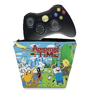 Capa Xbox 360 Controle Case - Hora De Aventura