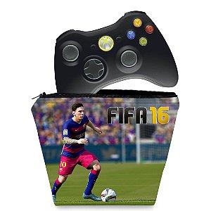 Capa Xbox 360 Controle Case - Fifa 16