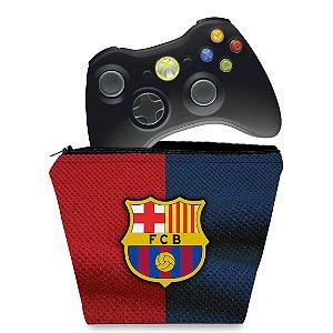Capa Xbox 360 Controle Case - Barcelona