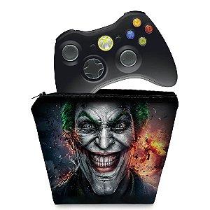 Capa Xbox 360 Controle Case - Coringa Joker #b