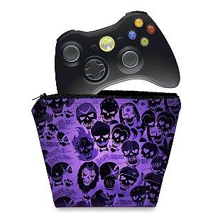 Capa Xbox 360 Controle Case - Esquadrão Suicida #a