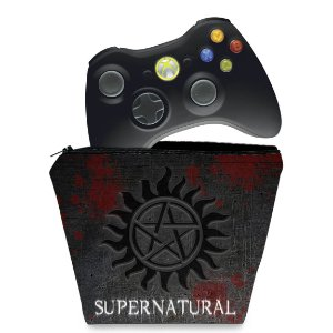 Capa Xbox 360 Controle Case - Sobrenatural