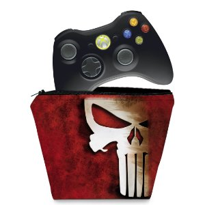 Capa Xbox 360 Controle Case - The Punisher Justiceiro