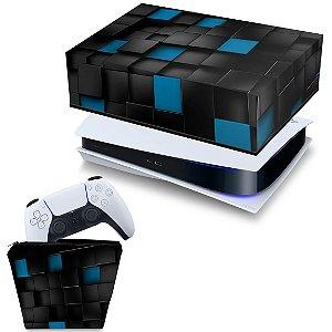 KIT PS5 Capa e Case Controle - Cubos