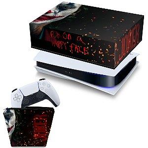 KIT PS5 Capa e Case Controle - Joker Filme