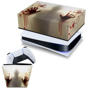 KIT PS5 Capa e Case Controle - Fear The Walking Dead