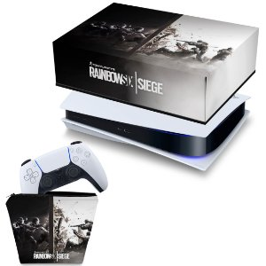 KIT PS5 Capa e Case Controle - Tom Clancy's Rainbow Six Siege
