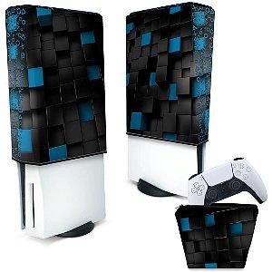 KIT Capa PS5 e Case Controle - Cubos