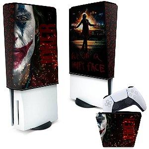KIT Capa PS5 e Case Controle - Joker Filme
