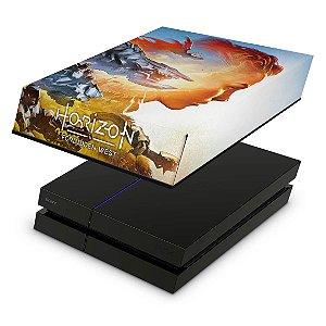 PS4 Fat Capa Anti Poeira - Horizon Forbidden West