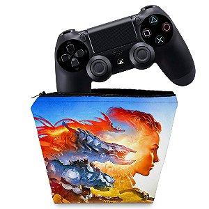 Capa PS4 Controle Case - Horizon Forbidden West