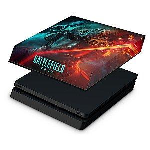 PS4 Slim Capa Anti Poeira - Battlefield 2042