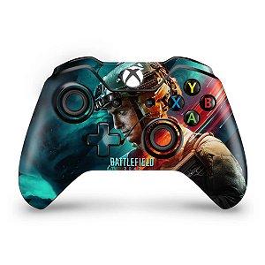 Skin Xbox One Fat Controle - Battlefield 2042