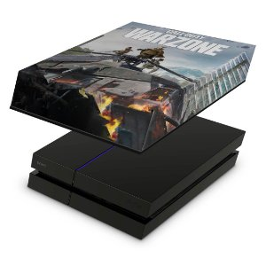 PS4 Fat Capa Anti Poeira - Call of Duty Warzone