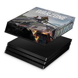 PS4 Pro Capa Anti Poeira - Call of Duty Warzone