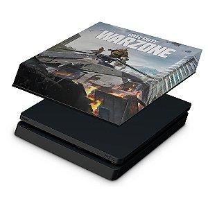 PS4 Slim Capa Anti Poeira - Call of Duty Warzone