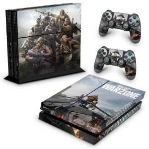 PS4 Fat Skin - Call of Duty Warzone