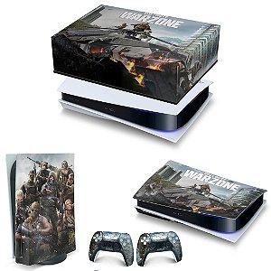 KIT PS5 Capa Anti Poeira e Skin - Call of Duty Warzone