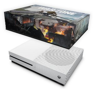 Xbox One Slim Capa Anti Poeira - Call of Duty Warzone