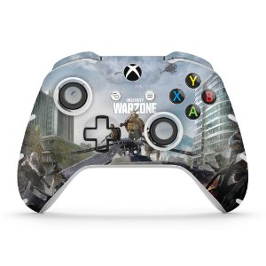 Skin Xbox One Slim X Controle - Call of Duty Warzone