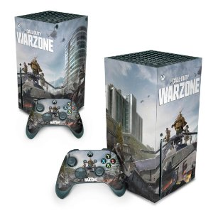 Xbox Series X Skin - Call of Duty Warzone