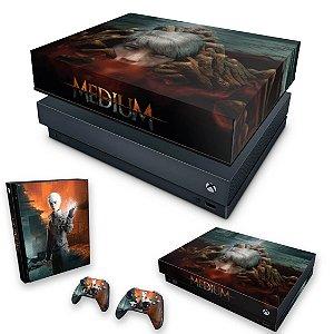 KIT Xbox One X Skin e Capa Anti Poeira - The Medium