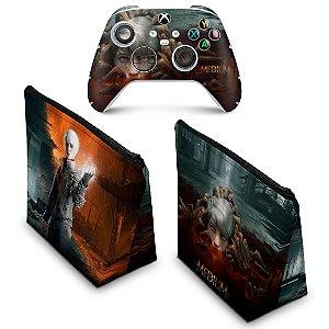 KIT Capa Case e Skin Xbox Series S X - The Medium