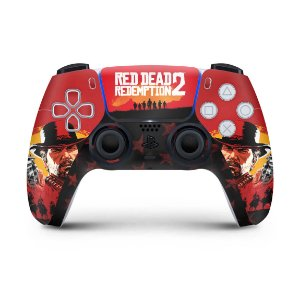 Skin PS5 Controle - Red Dead Redemption 2